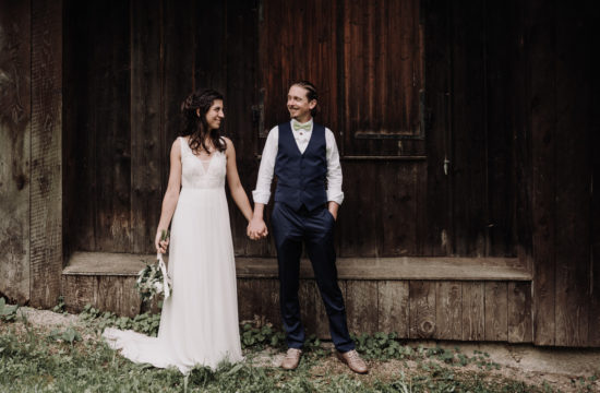 mariage rustique en Savoie