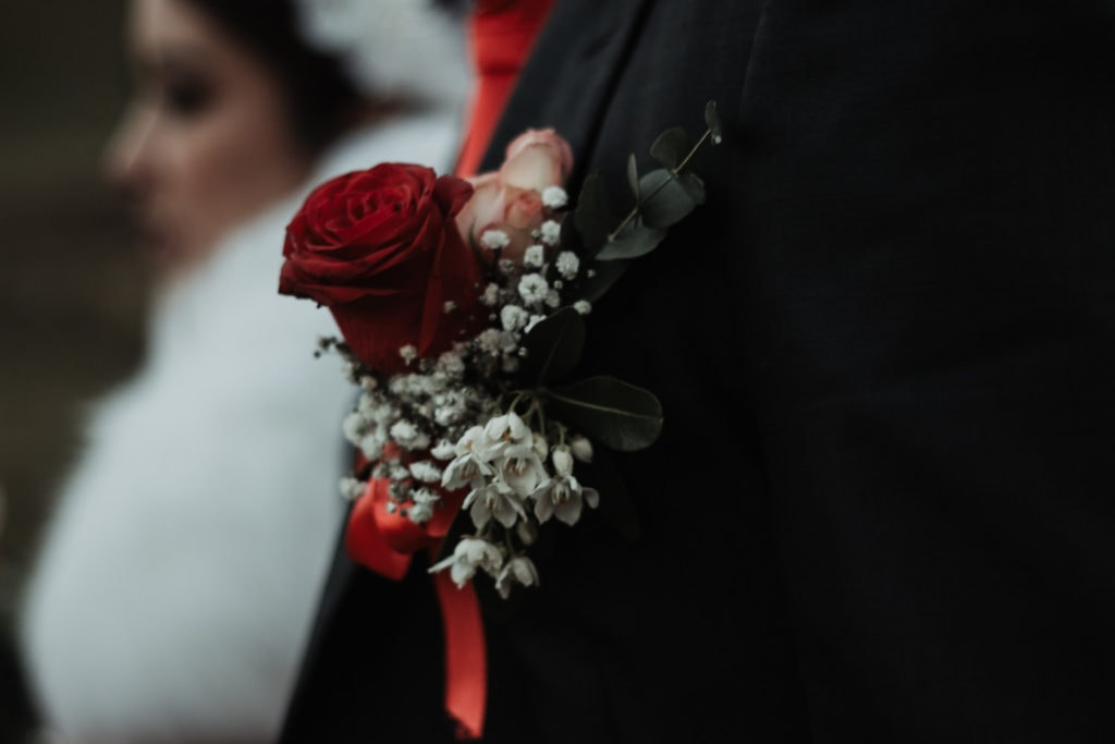 boutonnière mariage Annecy