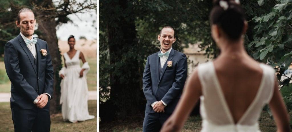 premier regard mariage