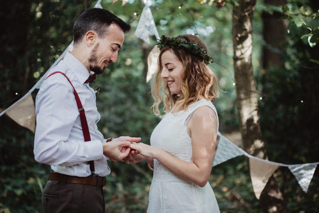 cérémonie mariage boho