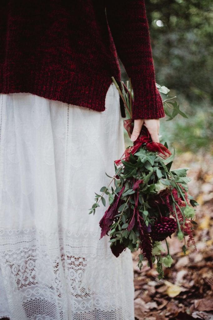 bouquet mariée boheme