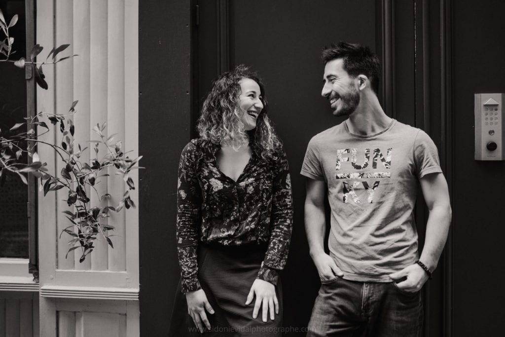 séance photo de couple au coeur de paris