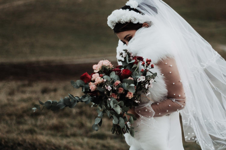 Bohemian folk wedding Annecy