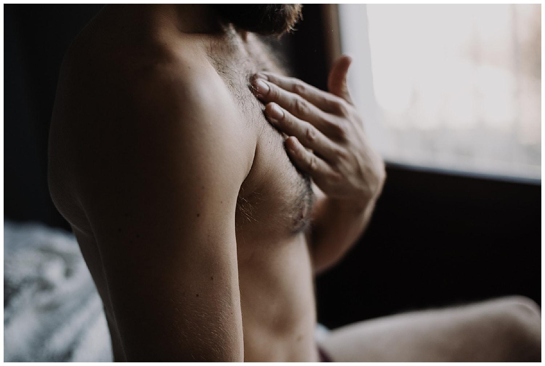 portrait intime homme