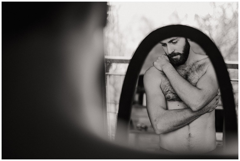 portrait intimiste homme