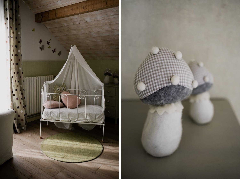 photo berceau chambre bébé