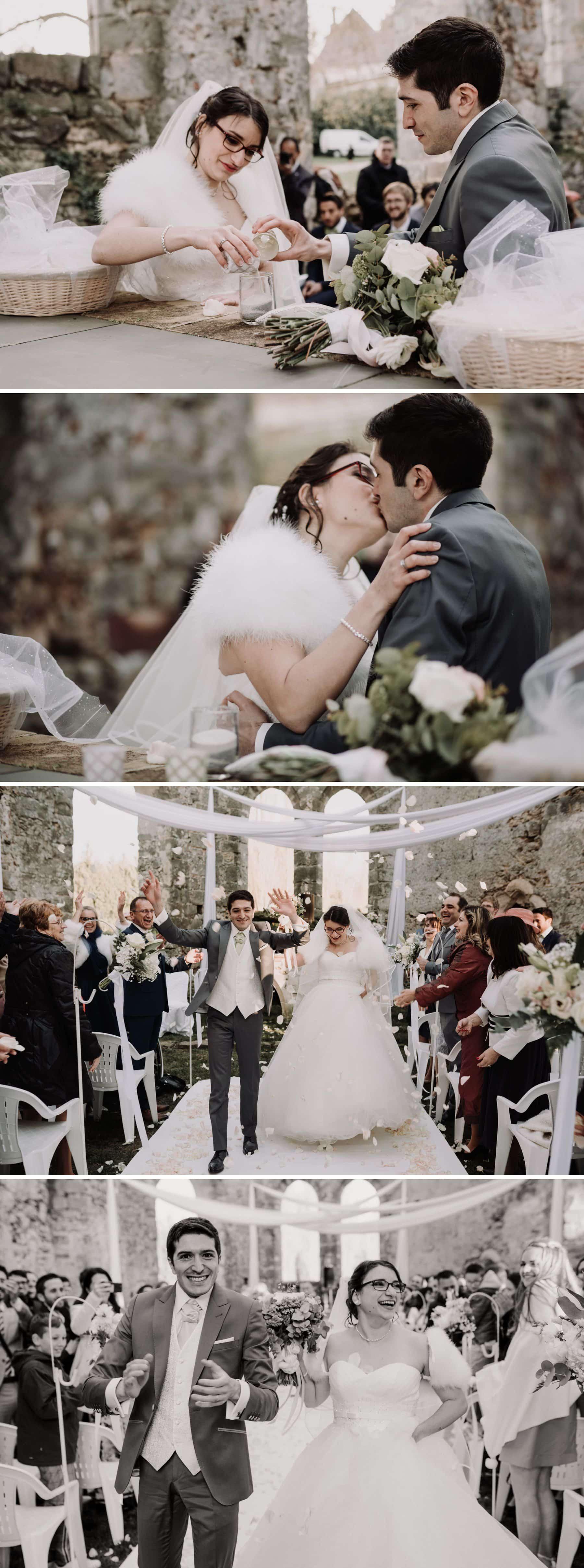 mariage champêtre château du vivier