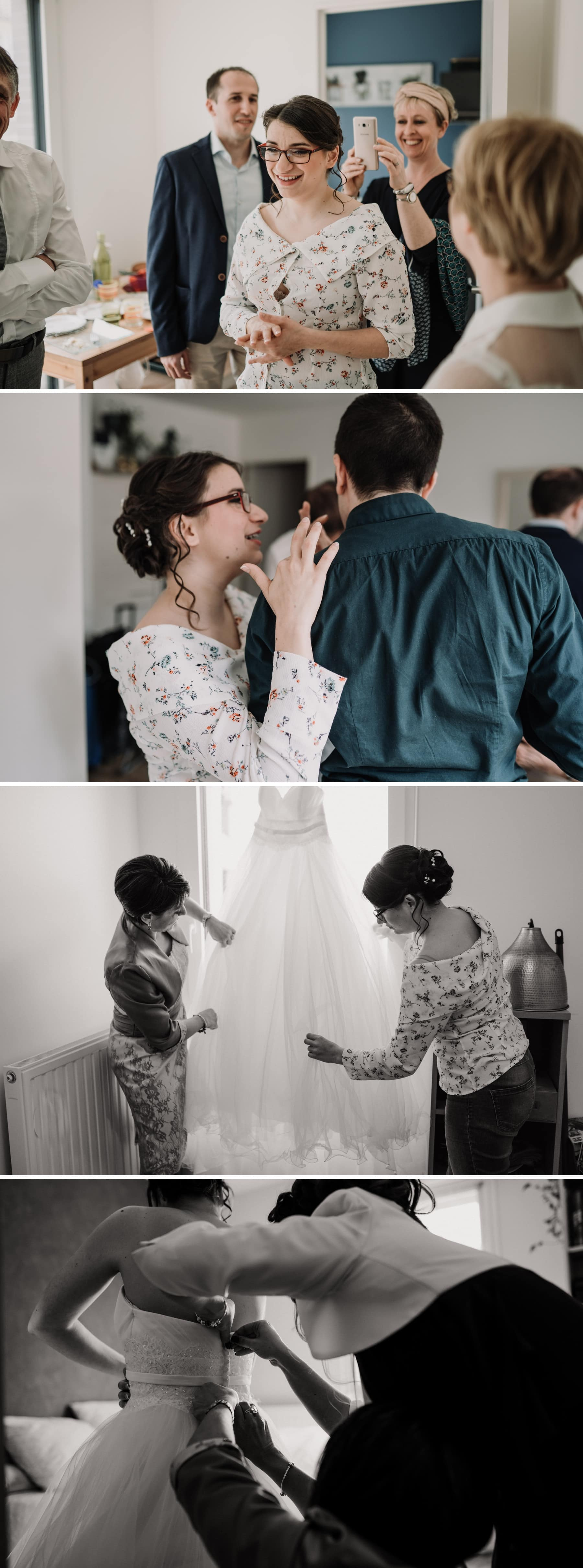 préparatifs mariée paris