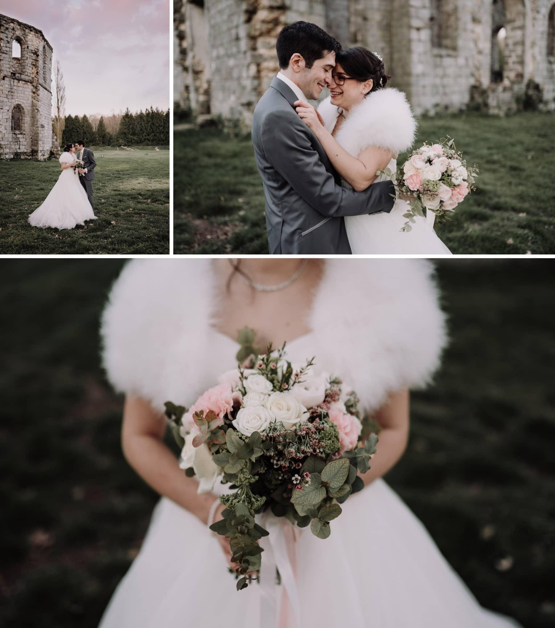 séance couple mariage romantique