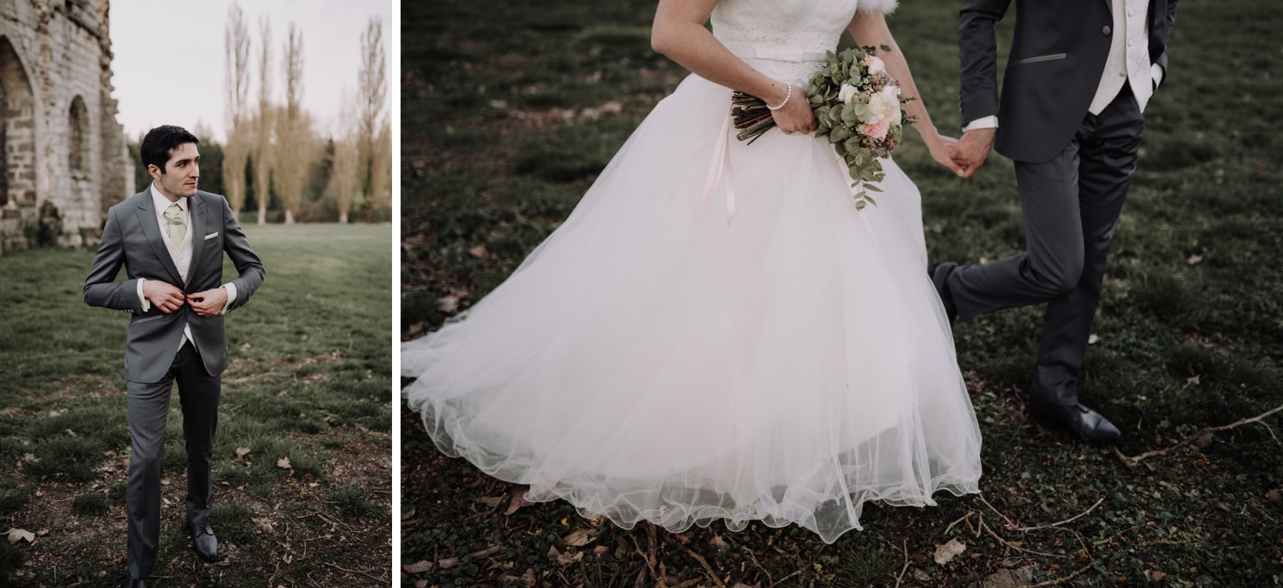 séance couple mariage château du vivier