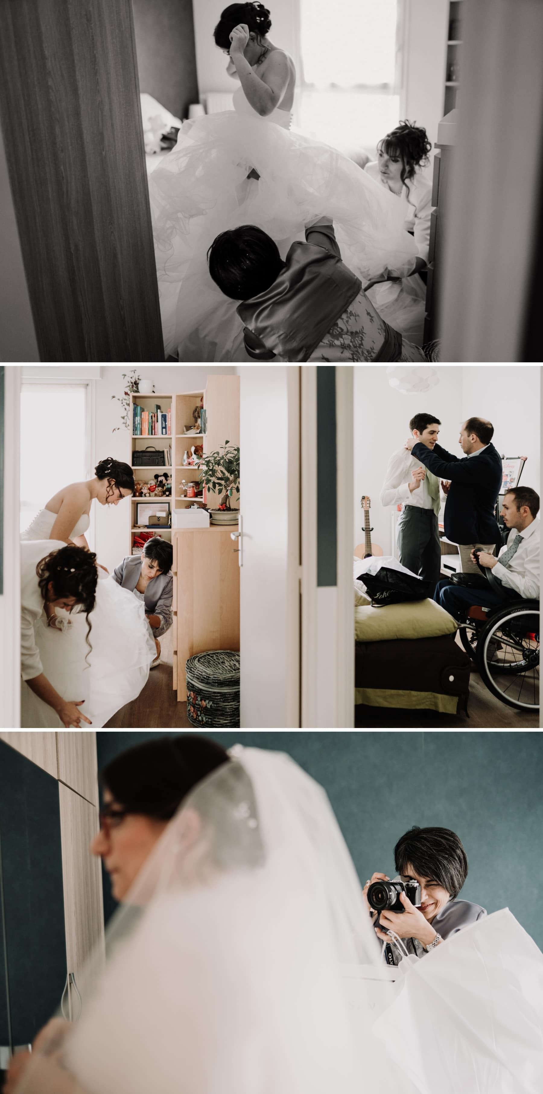 préparatifs mariage parisien