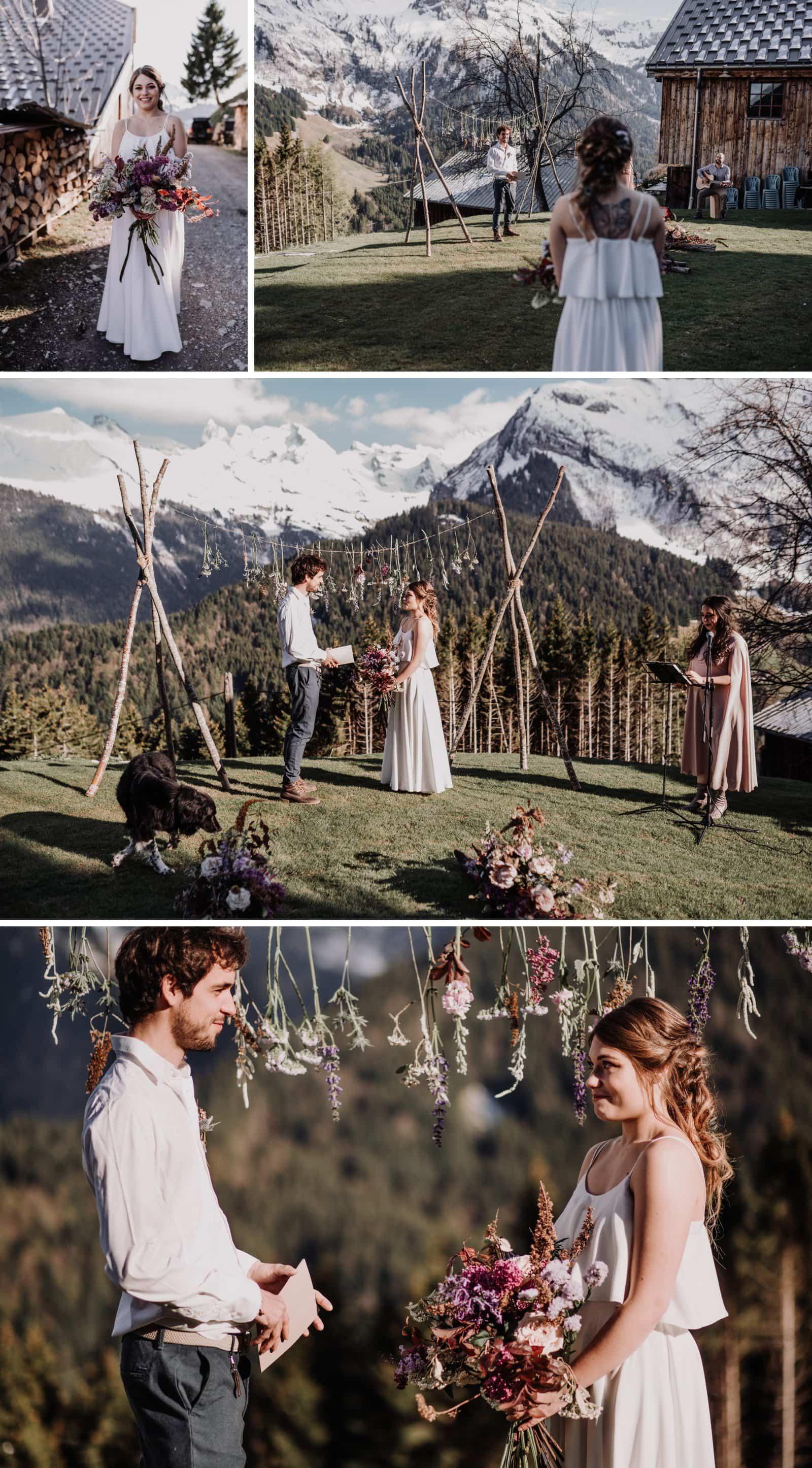 cérémonie de mariage laique