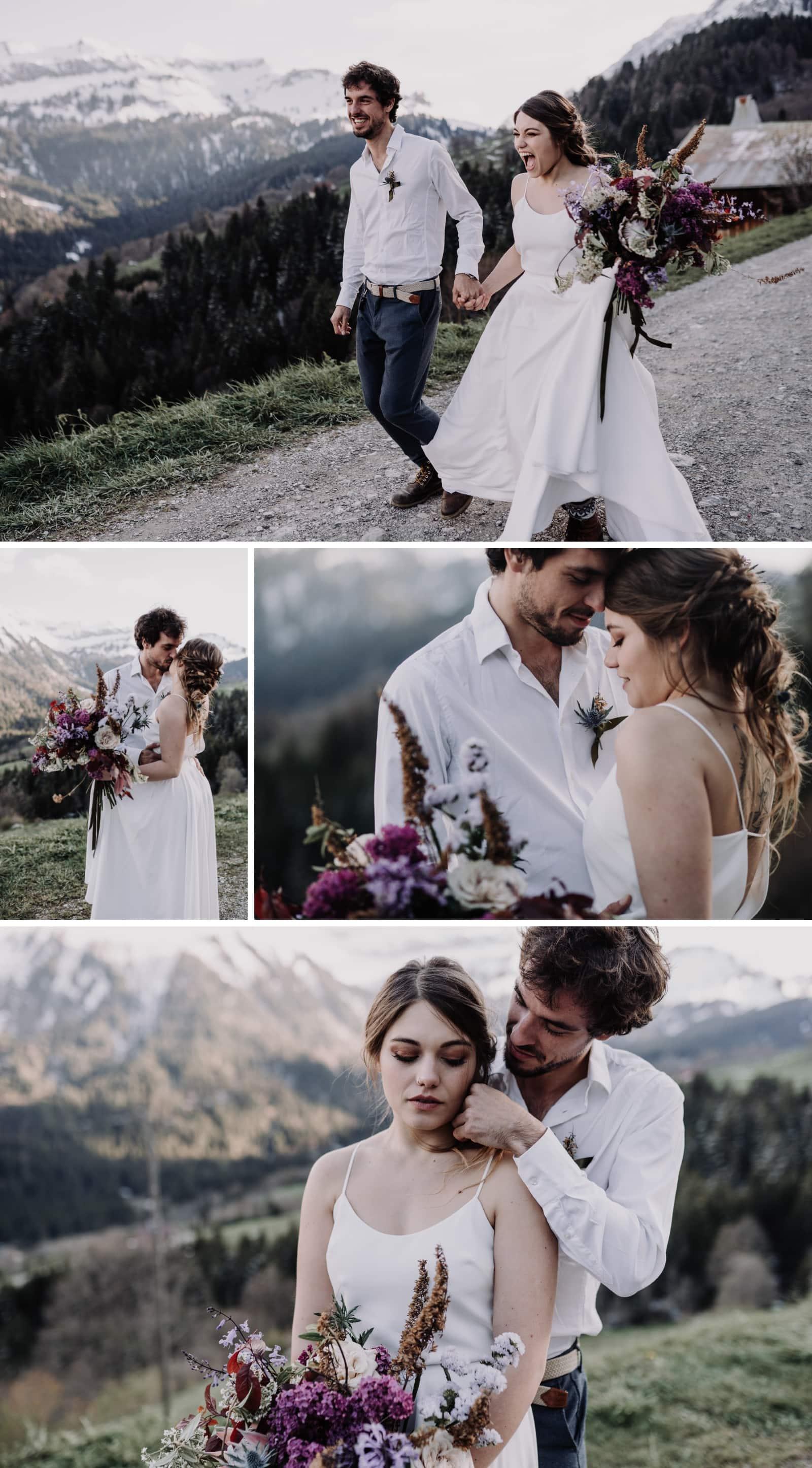 séance couple elopement boheme