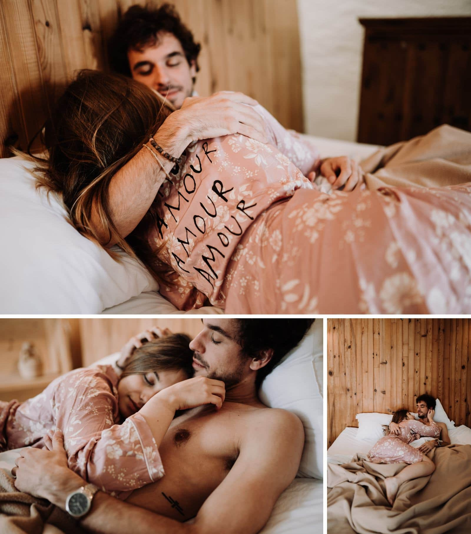 réveil en amoureux mariage