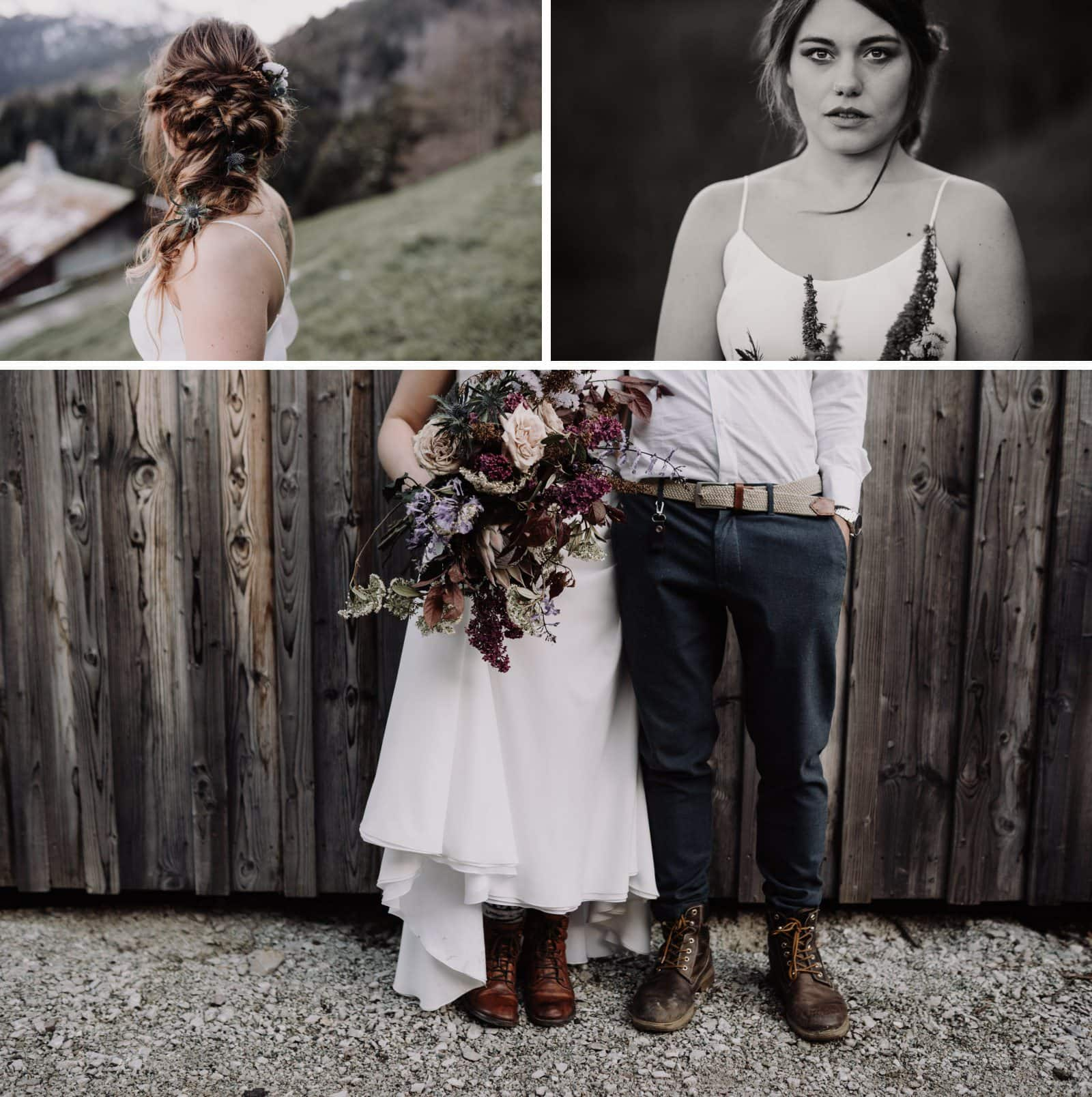 couple bohème mariage