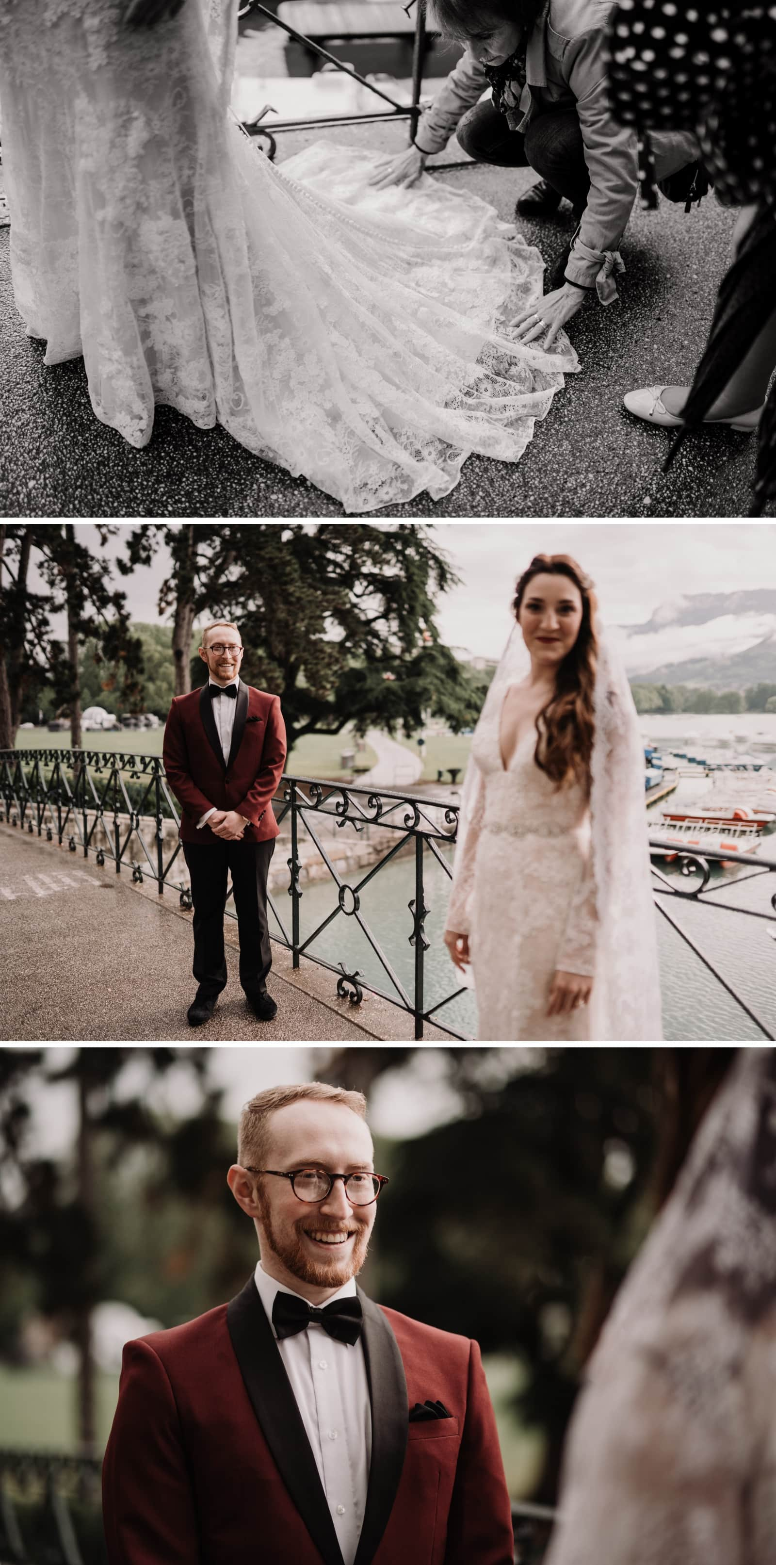 découverte des mariés annecy