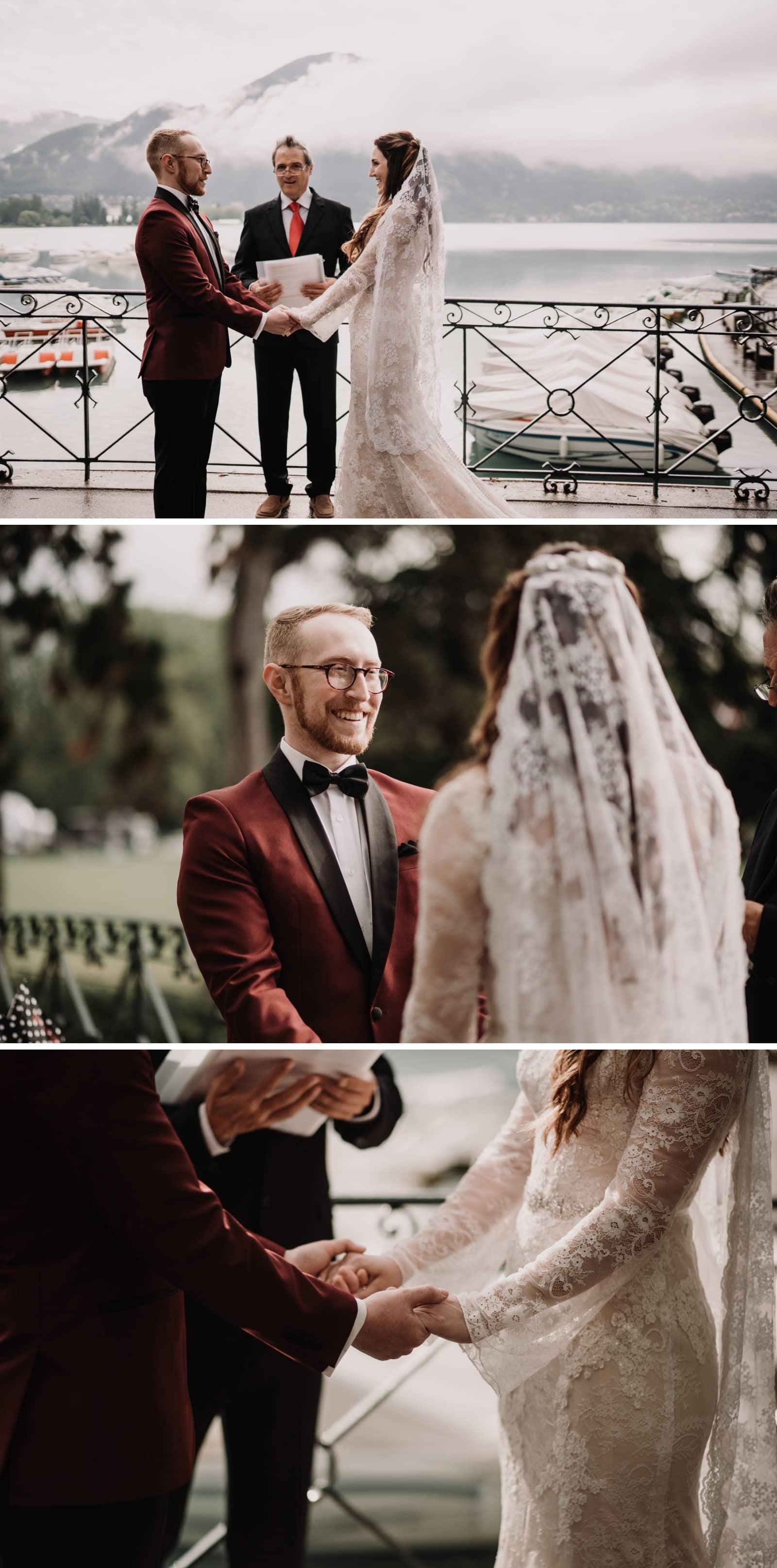 cérémonie de mariage Annecy