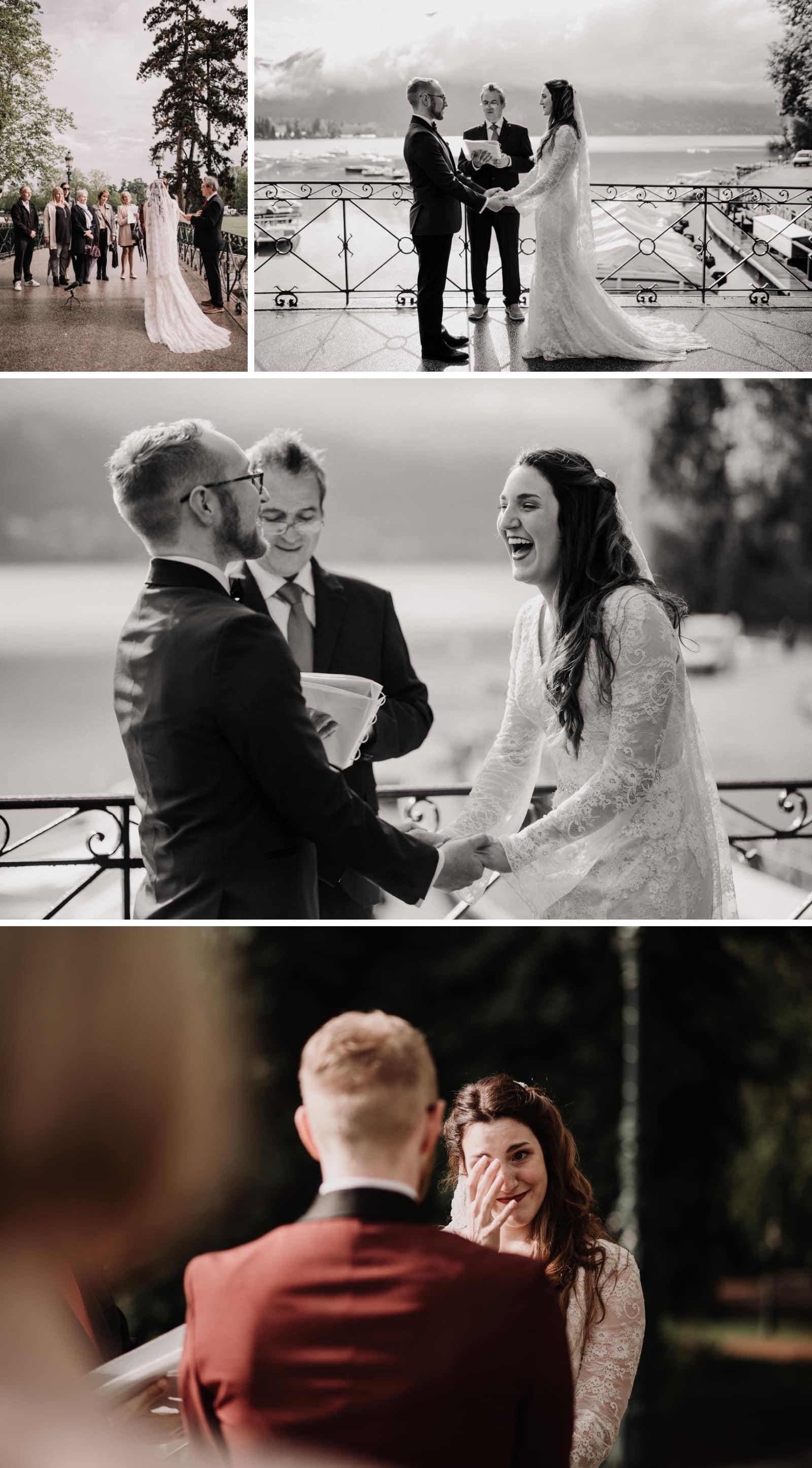 mariage au pont des amours annecy