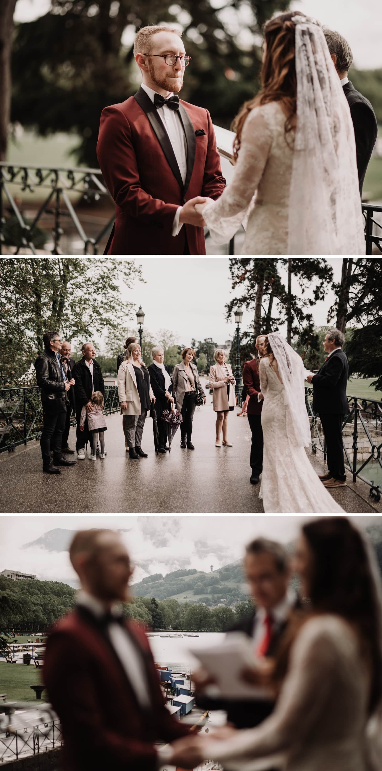 Intimate wedding in Annecy