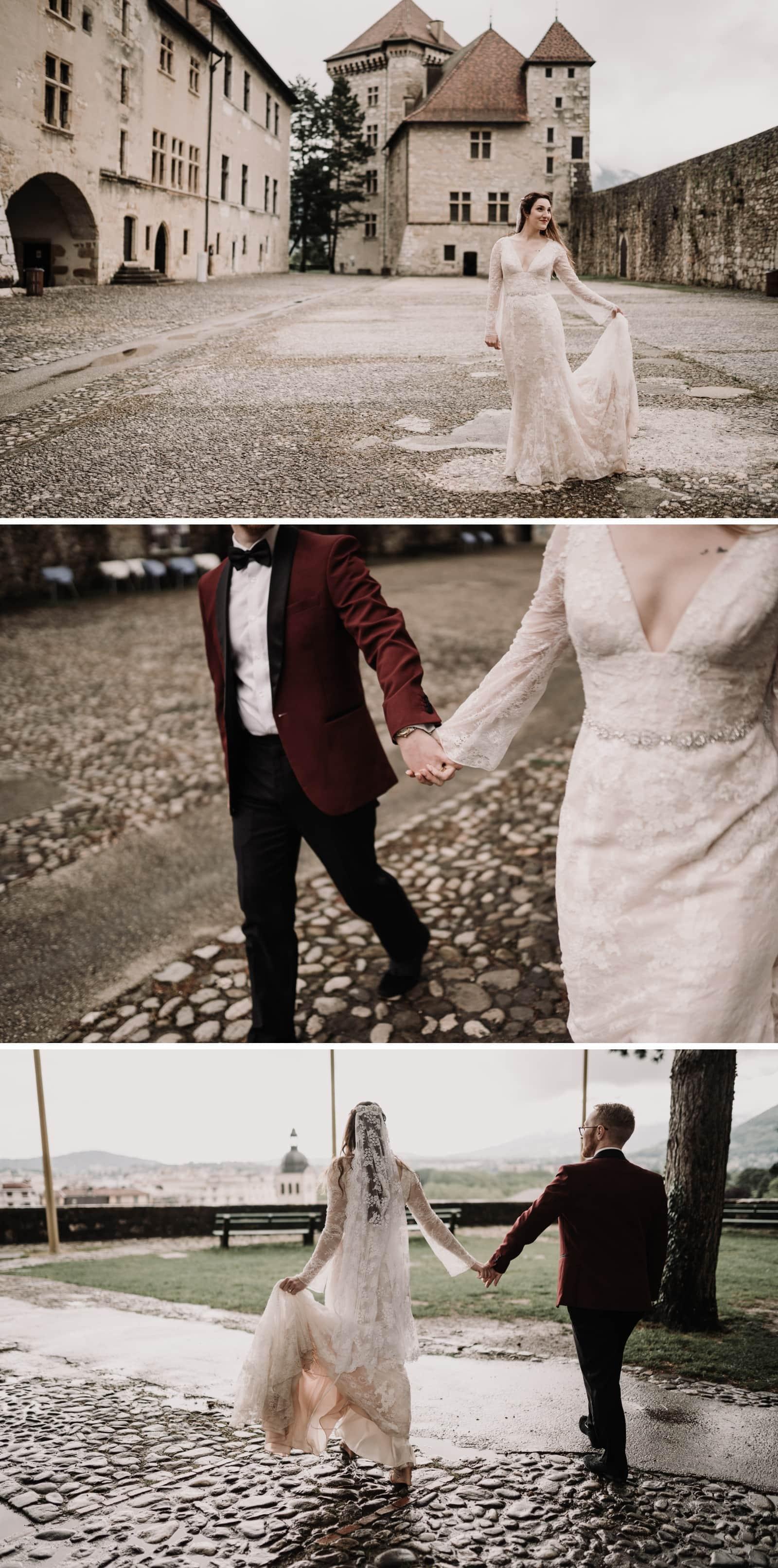 Mariage au château d'Annecy