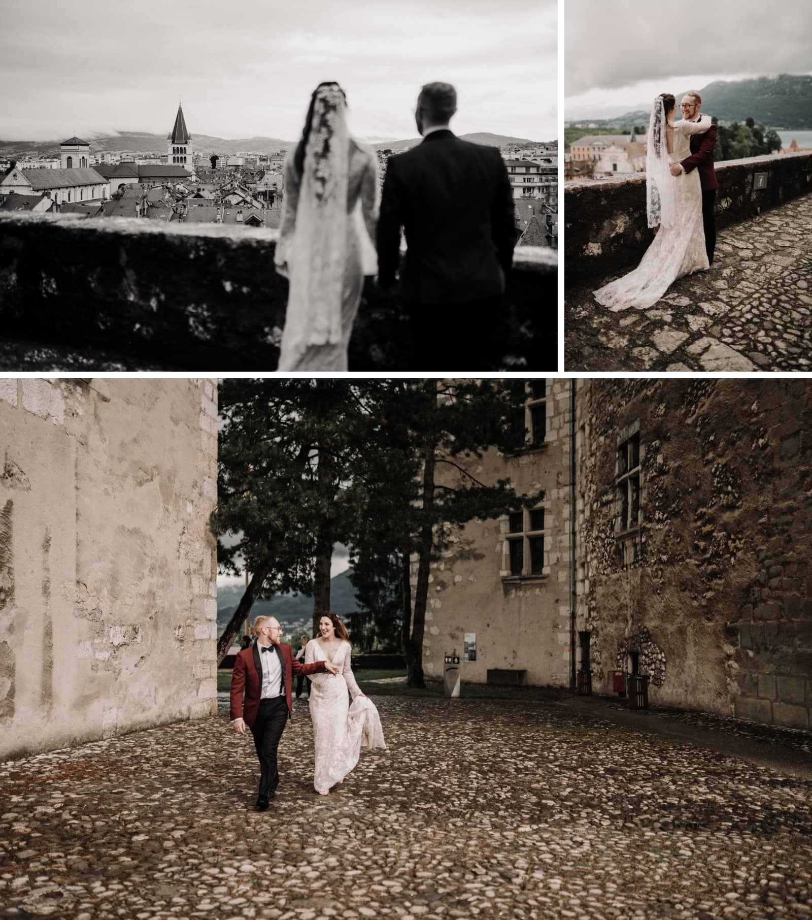 Château Annecy elopement