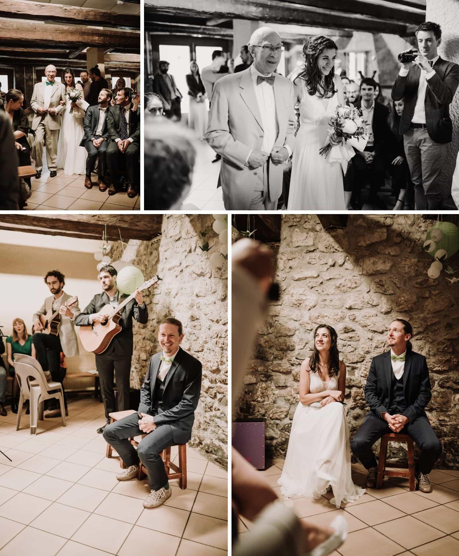 cérémonie de mariage laïque en Savoie