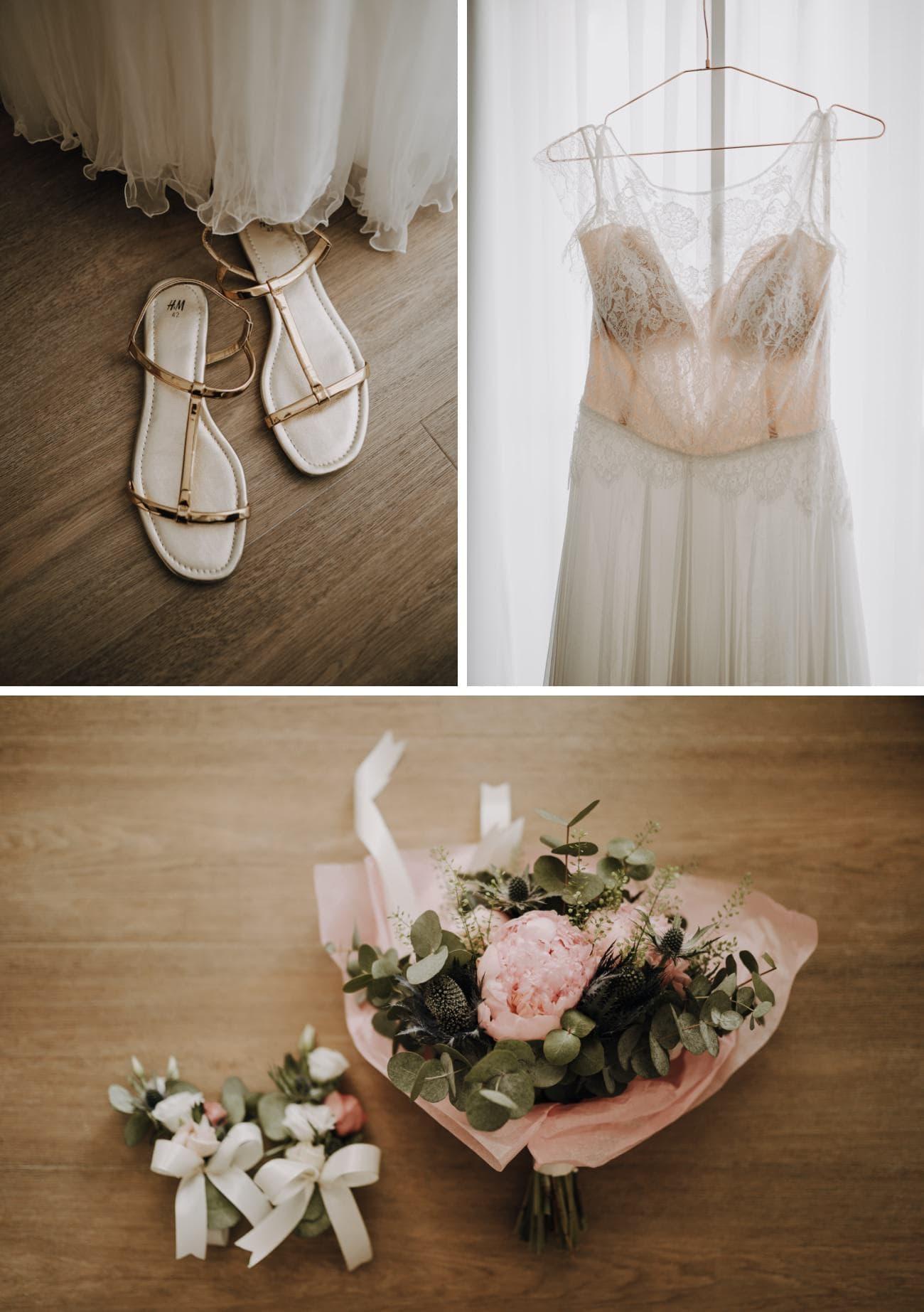 détails mariage bohème en suisse