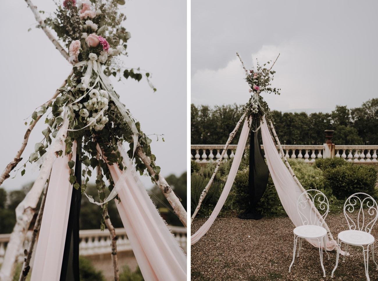 decoration boheme mariage