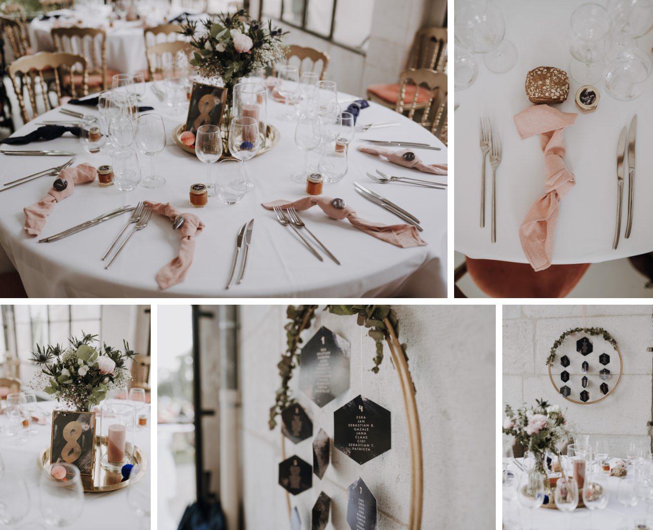 décoration mariage boheme chic