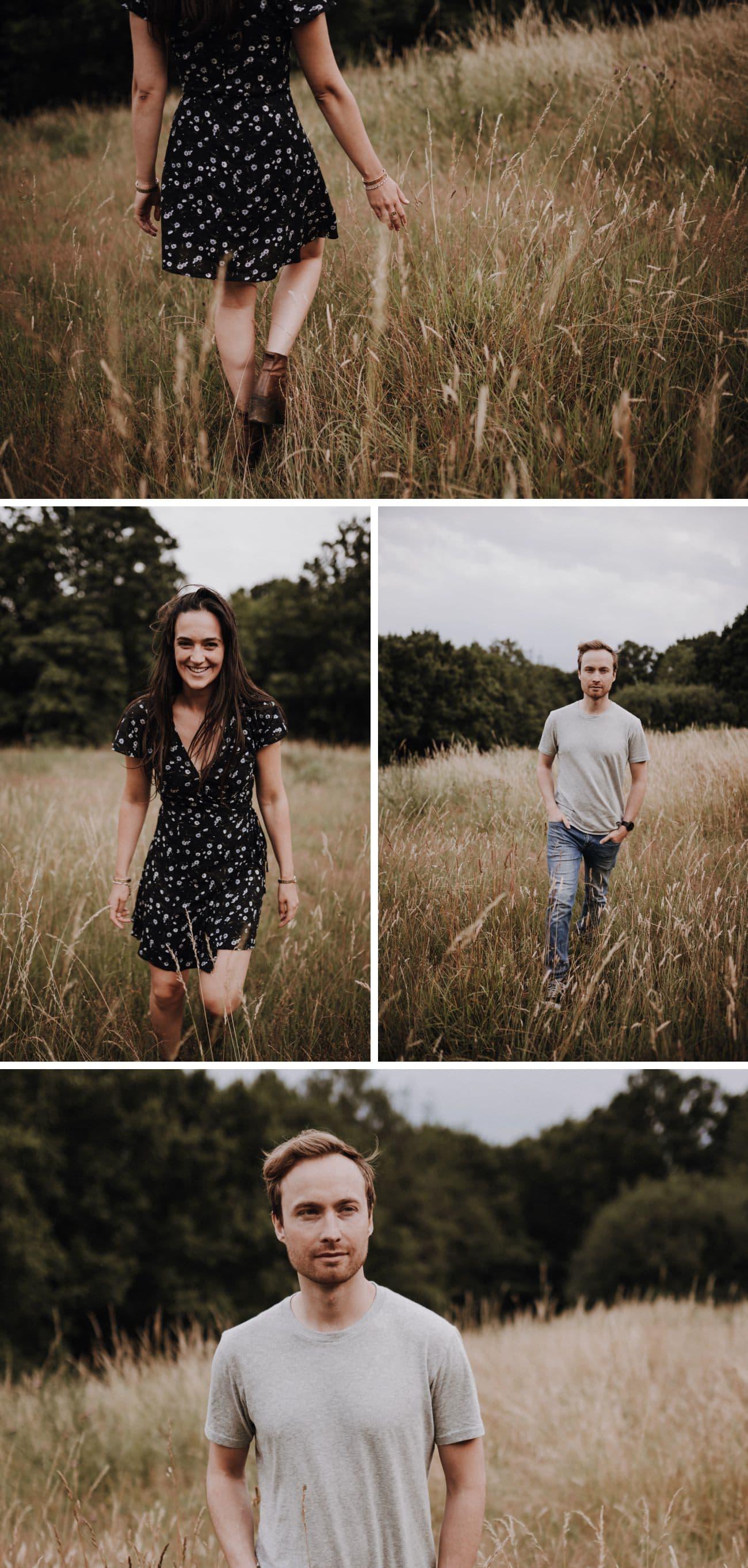 portraits de couple à Lodnres