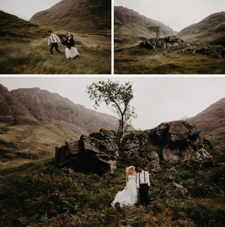 Mariage intimiste à Glencoe écosse